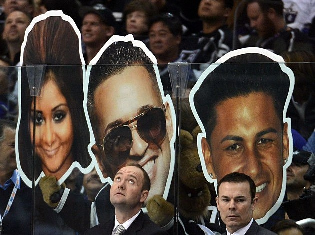 'Jersey Shore' Cut Outs