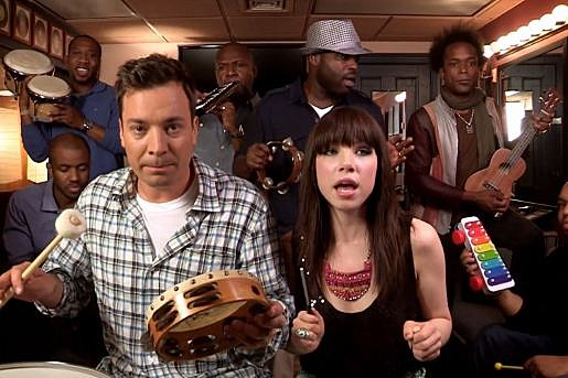 Jimmy Fallon Carly Rae Jepsen