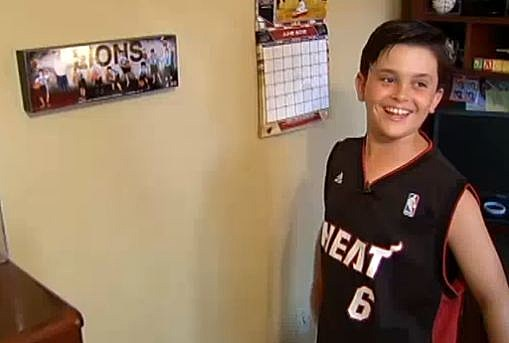 Miami Heat kid