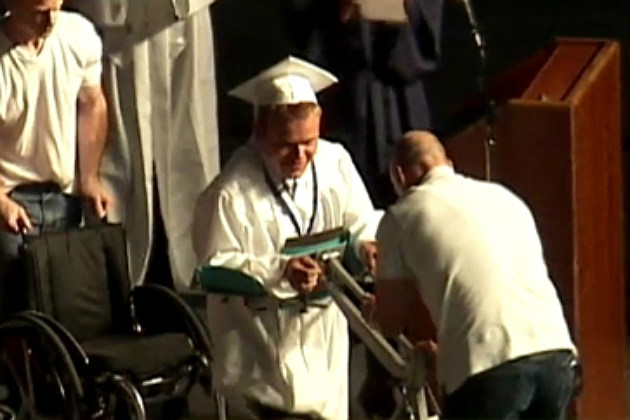 Paralyzed Teen Walks at Graduation Ceremony