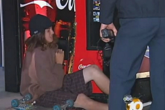 Teen Gets Arm Stuck in Vending Machine While Trying to Steal Soda