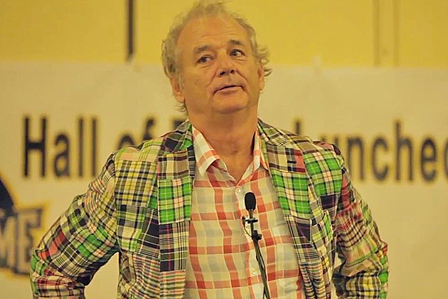 Bill Murray Baseball Hall of Fame