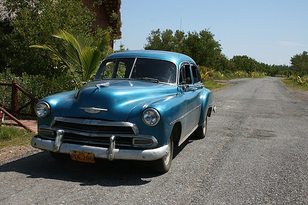 1950 Chevy (our ride to the beach)