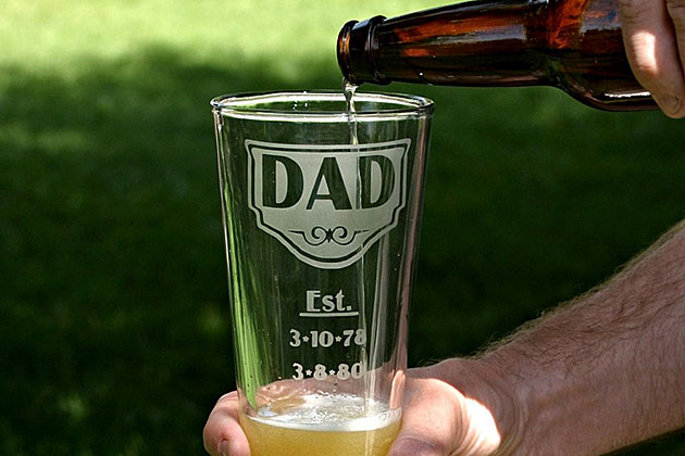 Father's Day Beer Glass