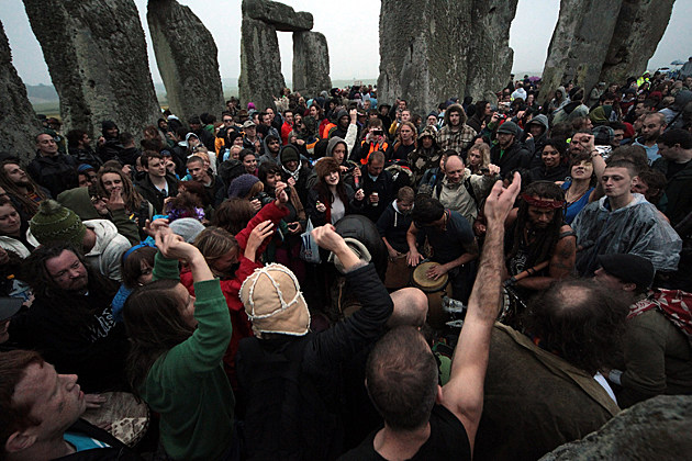 Summer Solstice 2012 at Stonehenge