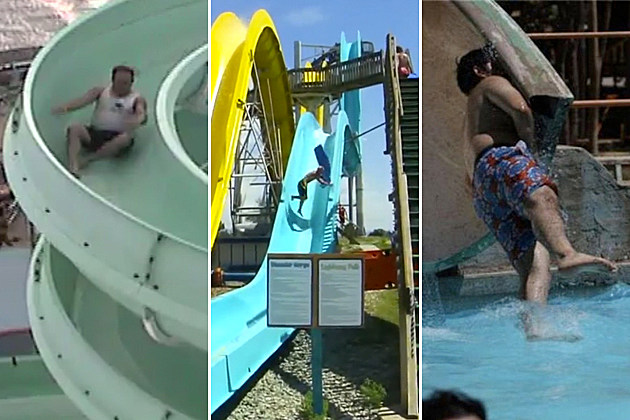 Water Slide Fails