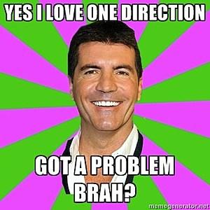 One Direction Memes Simon Cowell