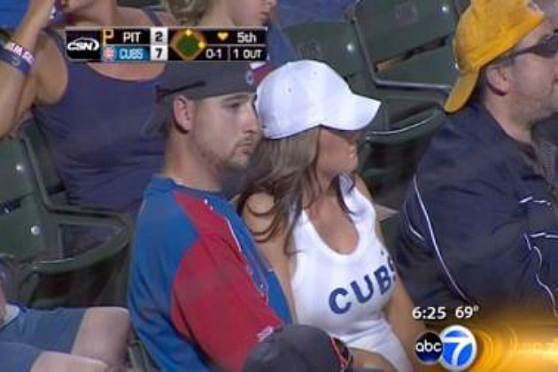 Marriage Proposal Goes Wrong During Cubs Game
