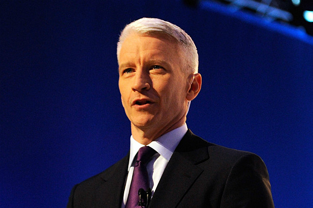 Anderson Cooper Admits He's Gay. Ethan Miller/Getty