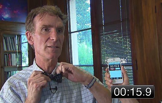 Bill Nye Bow tie