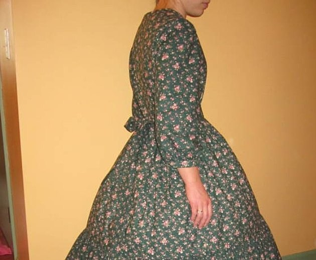 Etsy Civil War dress