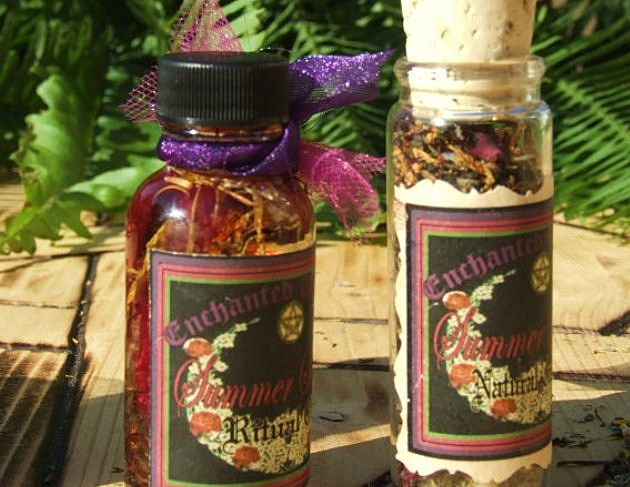 Etsy Summer Solstice Witchcraft Kit