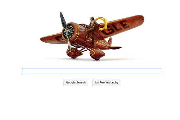 Google's Amelia Earhart's Doodle