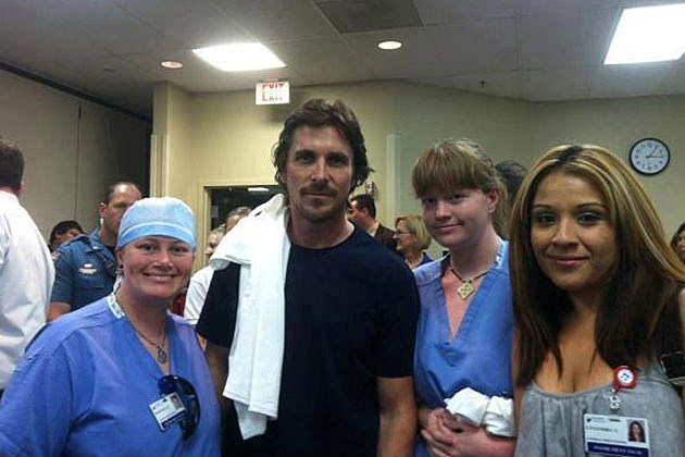 Christian Bale Aurora hospital