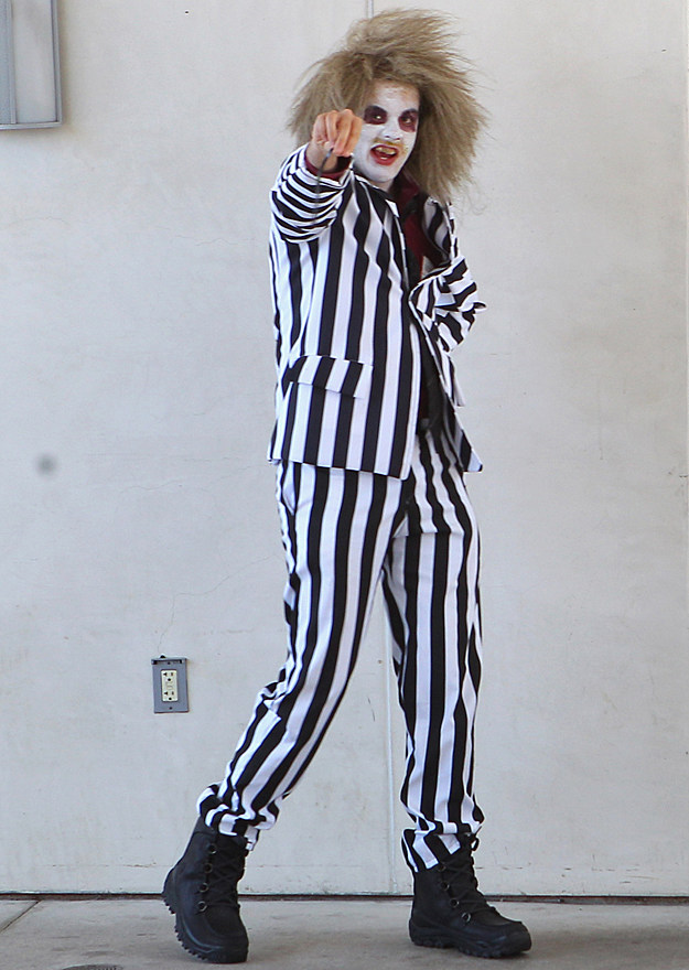 Comic-Con 2012 Cosplay - Beetle Juice