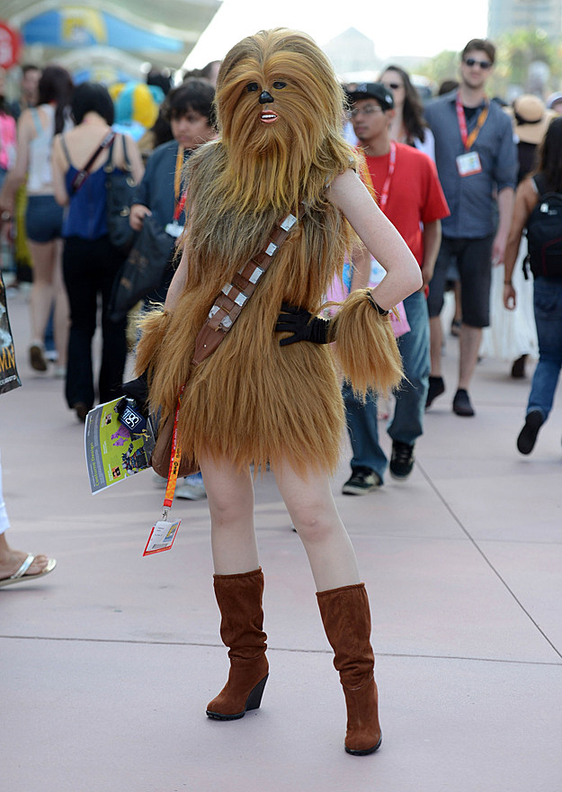 Comic-Con 2012 cosplay - Chewbacca
