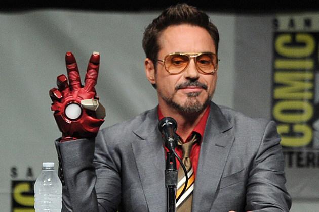 Comic-Con 2012 Robert Downey, Jr.