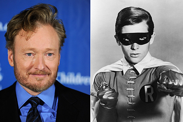 conan o'brien robin burt ward batman