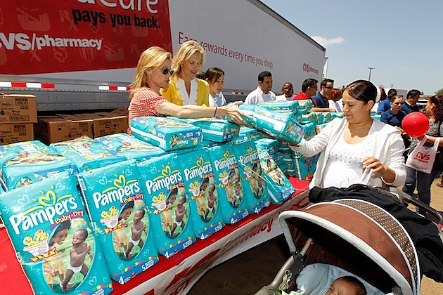 "CVS/pharmacy and LA Diaper Drive Host ""LA's Biggest Playdate"""