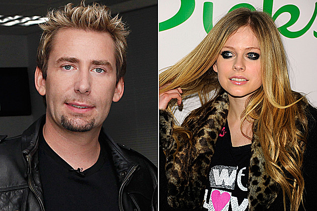 Avril Lavinge and Chad Kroeger