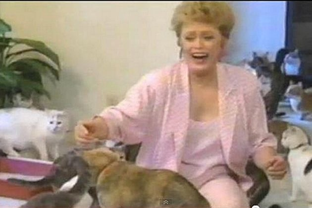 Rue McClanahan cats