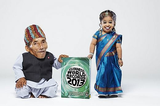 World's Shortest Woman Man