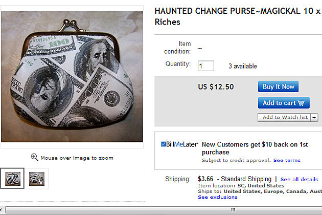 Haunted Change Purse