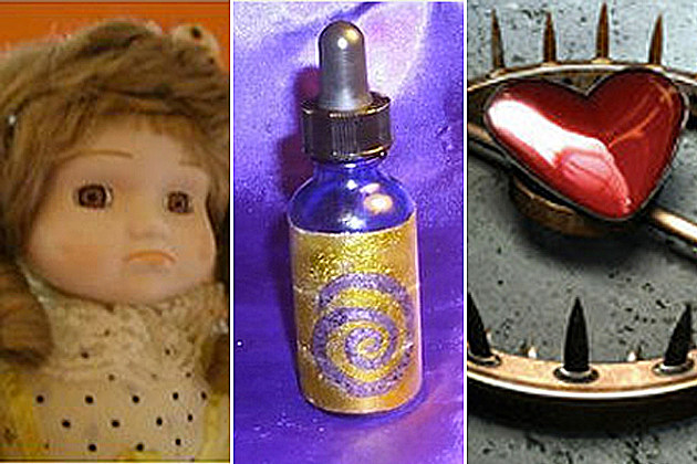 Haunted Ebay Items