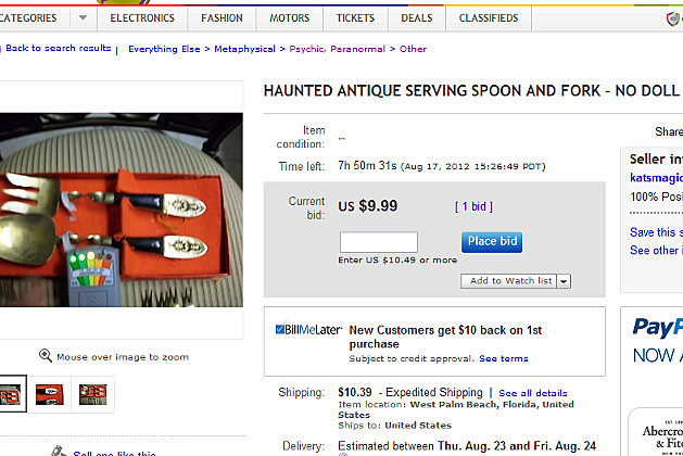 Haunted Fork and Spoon