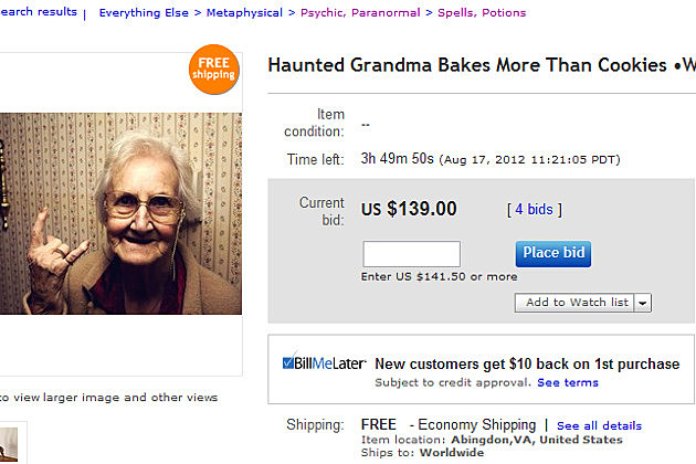 Haunted Grandma