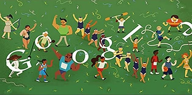 Olympics Closing Ceremony Google Doodle