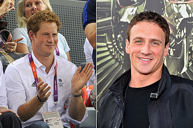 Ryan Lochte Prince Harry