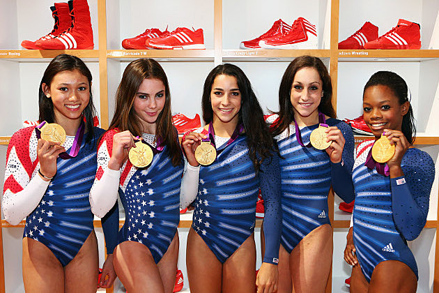 US Olympic Gymnasts