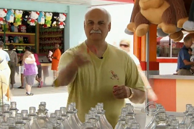 carnival winner peter drakos midway prizes stuffed toys detroit, michigan