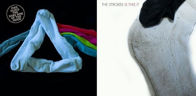 famous albums with socks