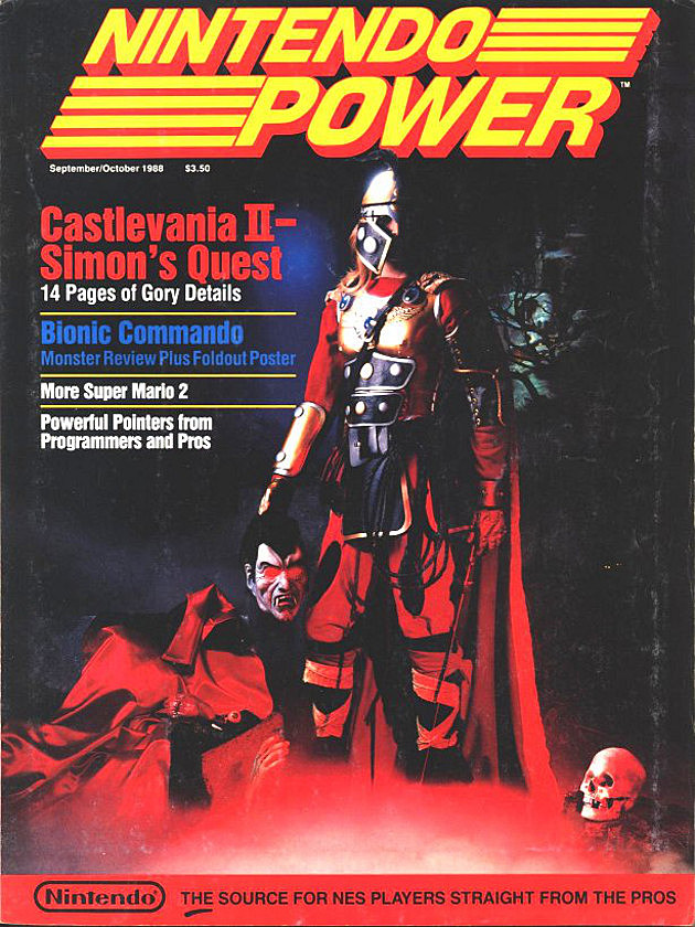 Nintendo Power Castlevania II Cover