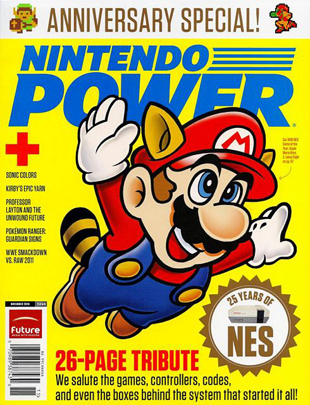 Nintendo Power Mario Cover
