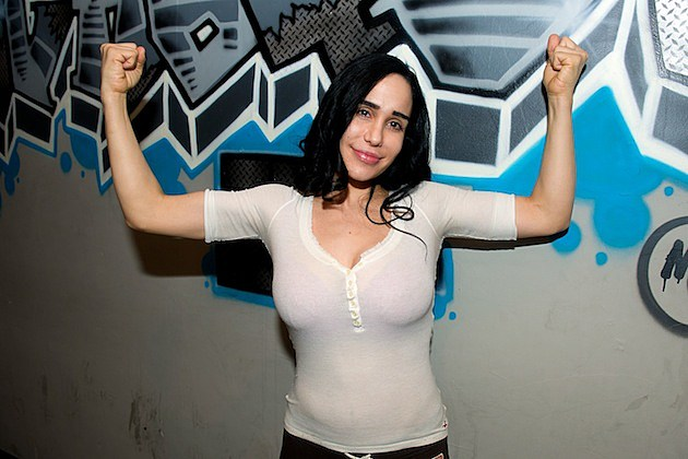 Nadya Suleman Vs Lisa Marie Female Pillow Fighting Press Conference