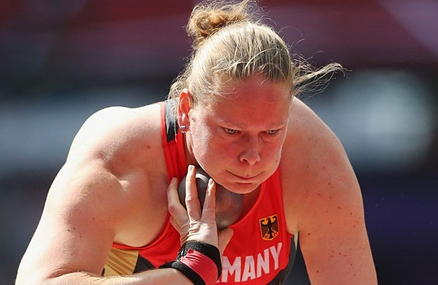 shot put face