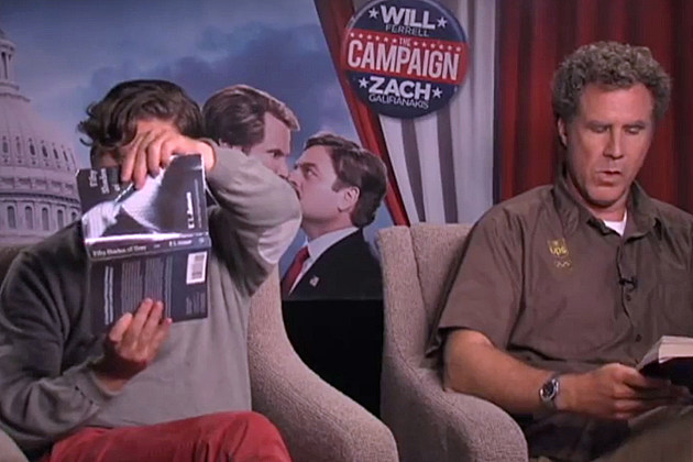 Will Ferrell and Zach Galifianakis read '50 Shades of Grey'