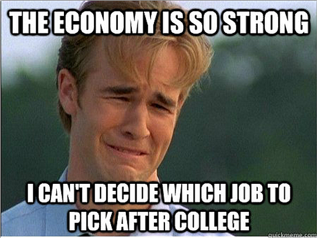 1990s Problems on job after college