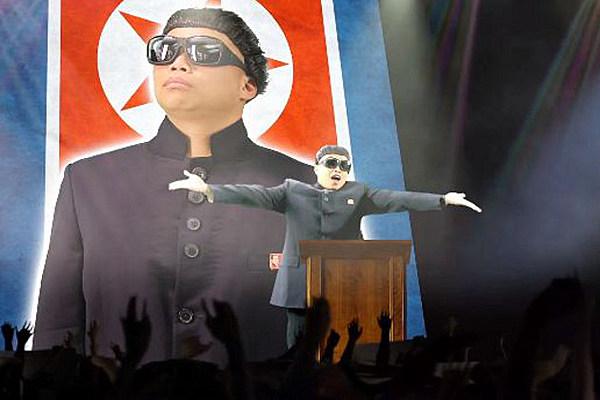 North Korean Dictator Kim Jong-Un Takes Over Gangnam Style