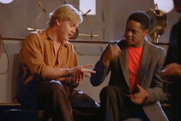 Rick Schroder Blair Underwood Liberian Girl