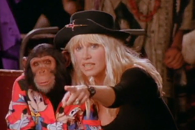 Suzanne Somers Bubbles Liberian Girl