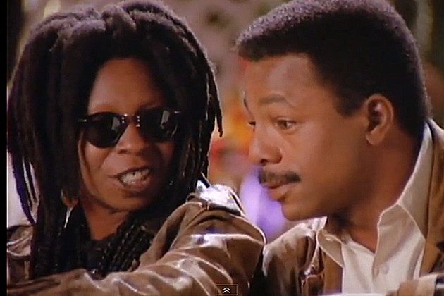 Whoopi Goldberg Carl Weathers Liberian Girl