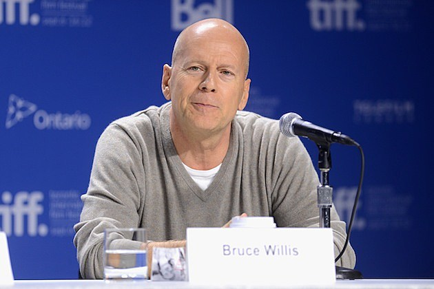 """Looper"" Press Conference - 2012 Toronto International Film Festival bruce willis"