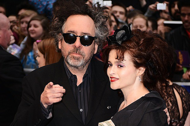 Dark Shadows - UK Premiere - Outside Arrivals tim burton helena bonham carter