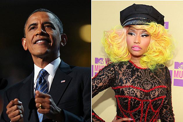 Obama Nicki Minaj