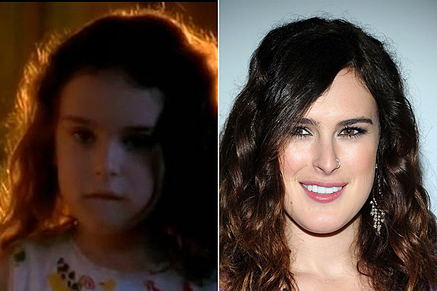 Rumer Willis Then and Now