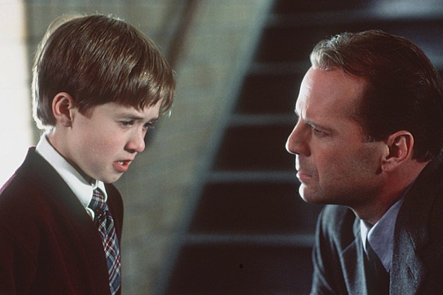 Bruce Willis Stars As Child Psychologist Dr Malcolm Crowe And Haley Joel Osment (L) Star the sixth sense